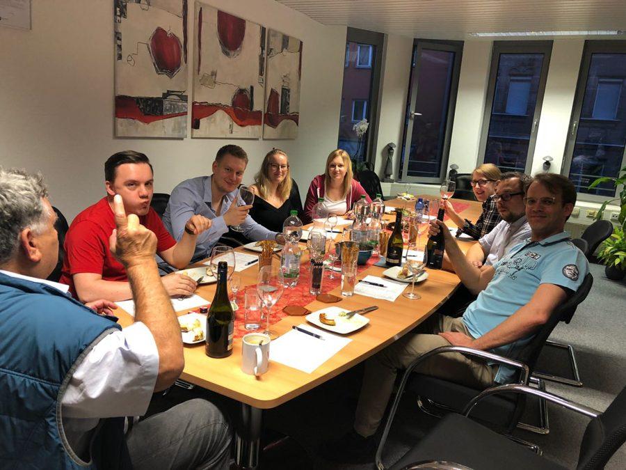 Weinprobe Elfenhof vom Neusiedler See 18.05.2018