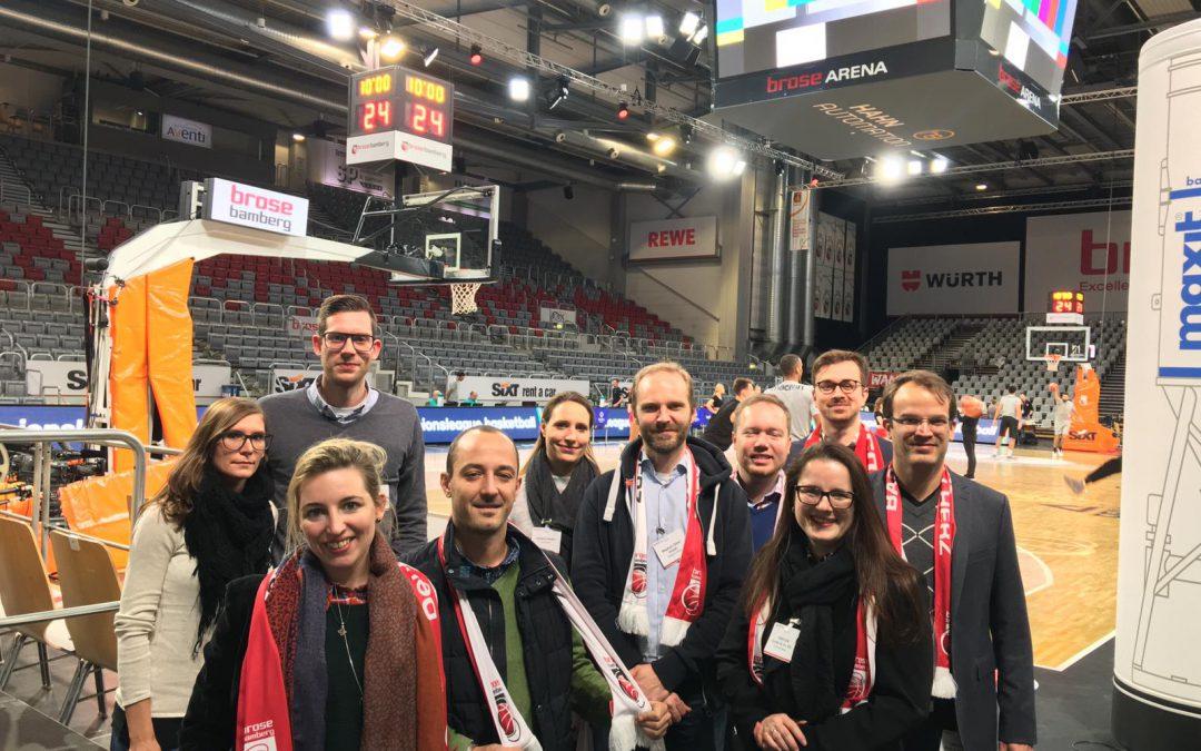 Basketball Champions League – Spiel, Spaß und Spannung mit den Brose Basket Team