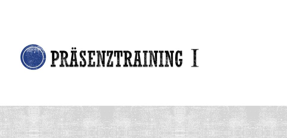 Präsenztraining – So gelingt ein wirkungsvoller Auftritt