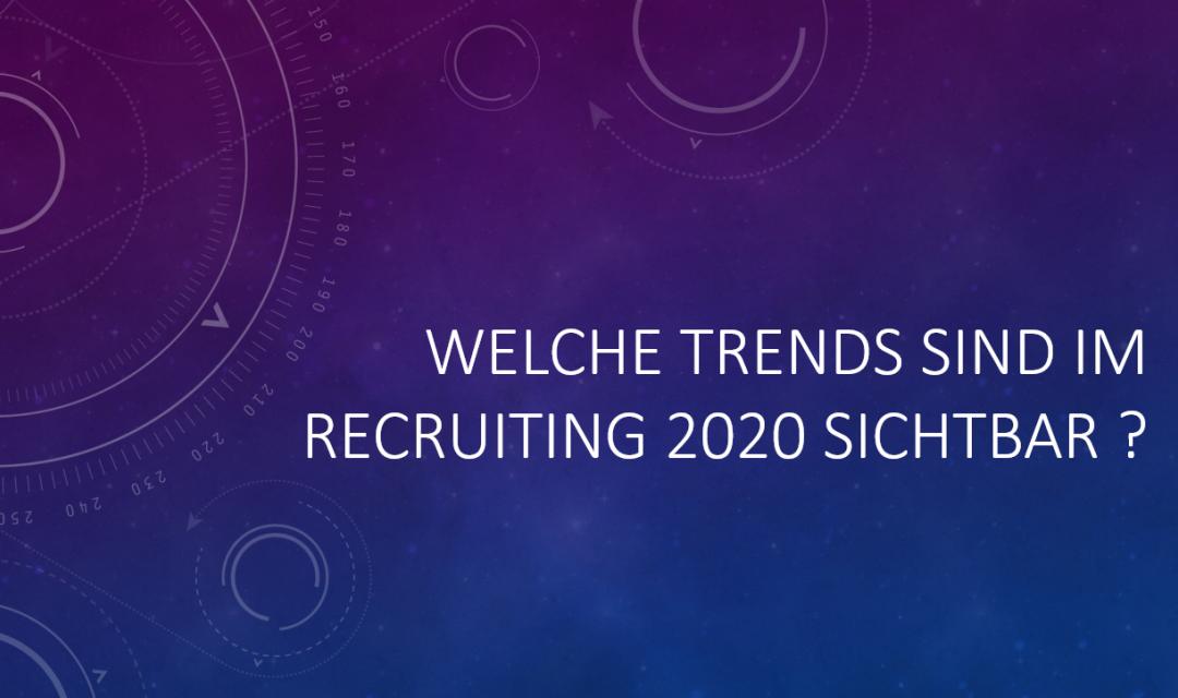 Recruiting Trends 2020 – Das geheime Wissen von Personalern